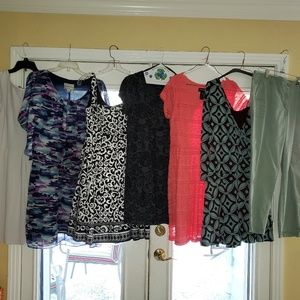 Bundle of size 14 clothes